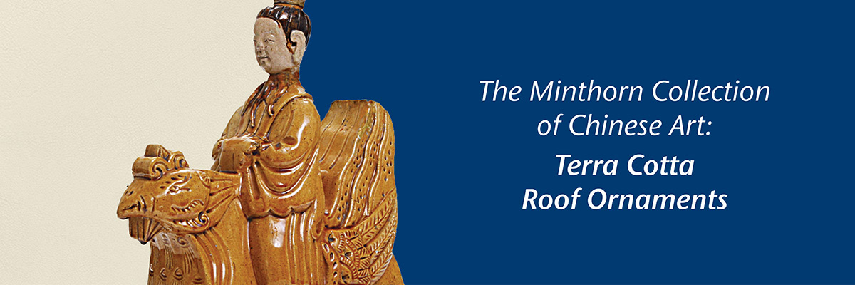 Minthorn Collection: Terra Cotta Roof Ornaments