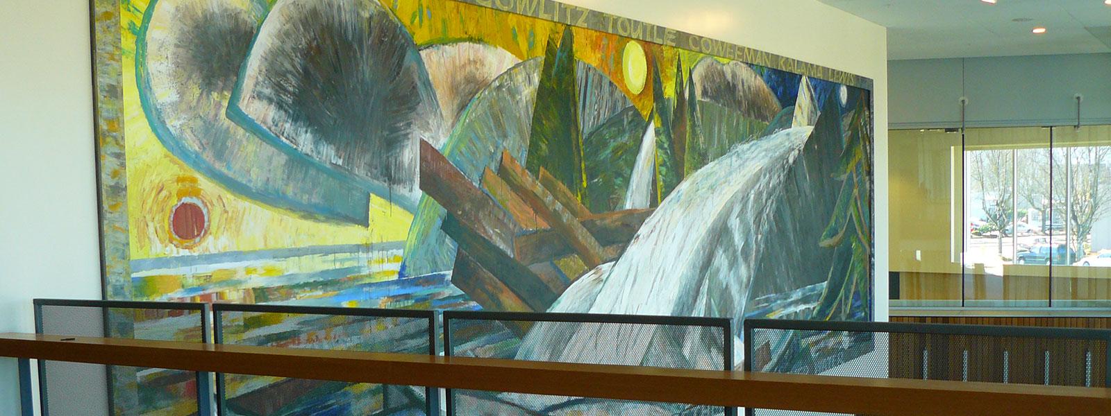 rca lobby mural
