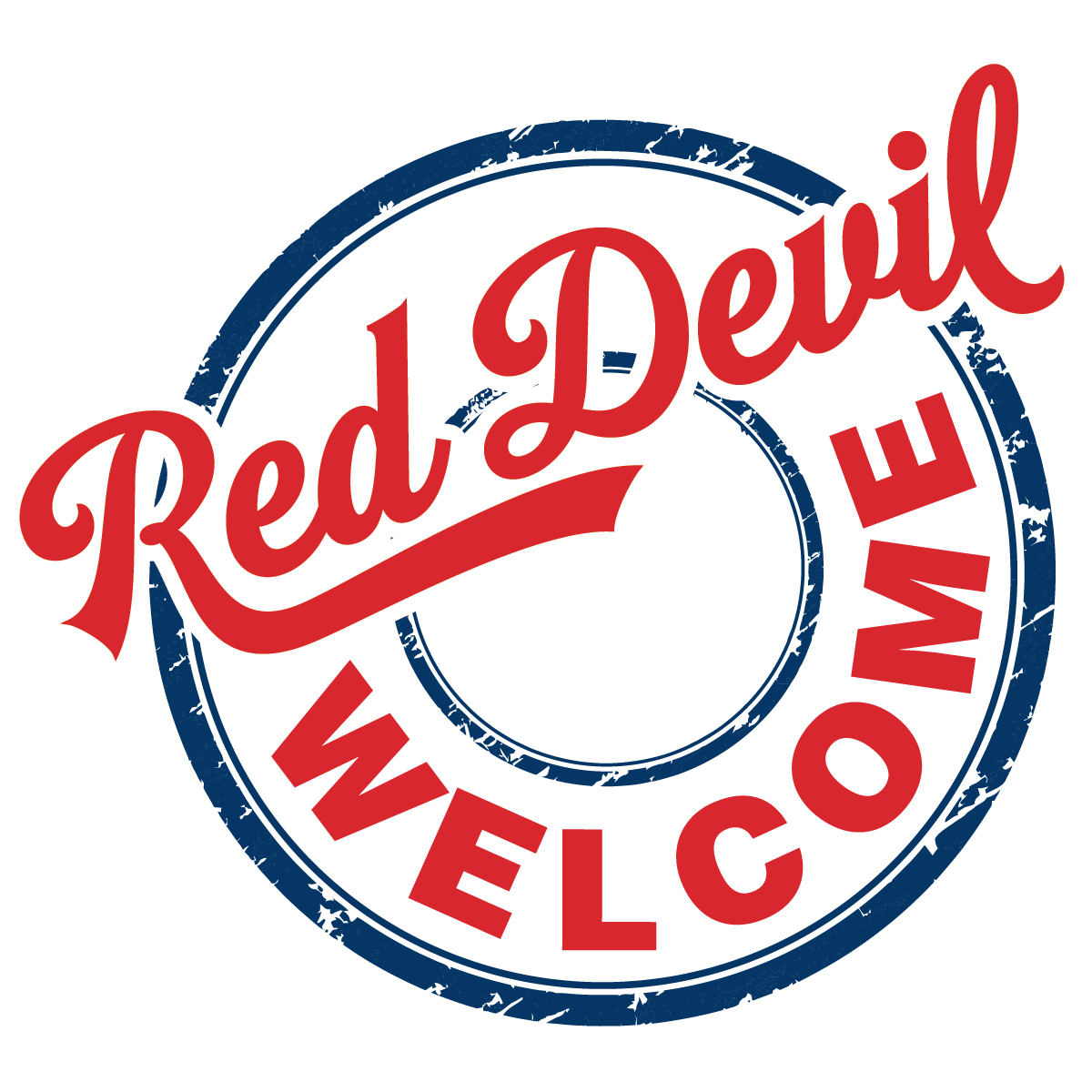 Red Devil Welcome Logo