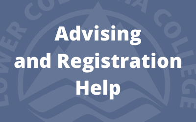 Advising and registration help