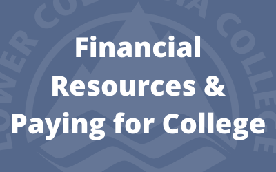 Financial Resources & Paying for College