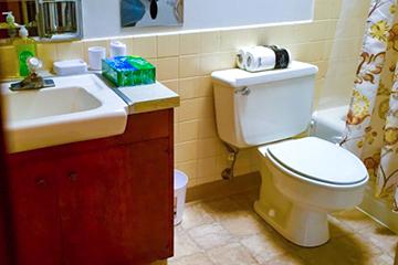 Private Bathroom Toilet