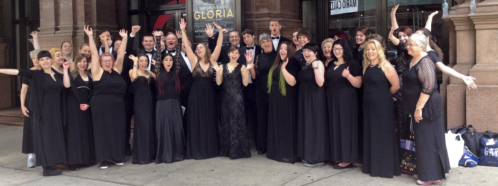 Concert Choir at Carnegie Hall