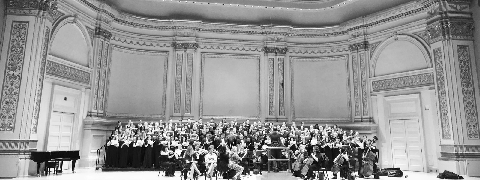 Concert Choir performs at Carnegie Hall