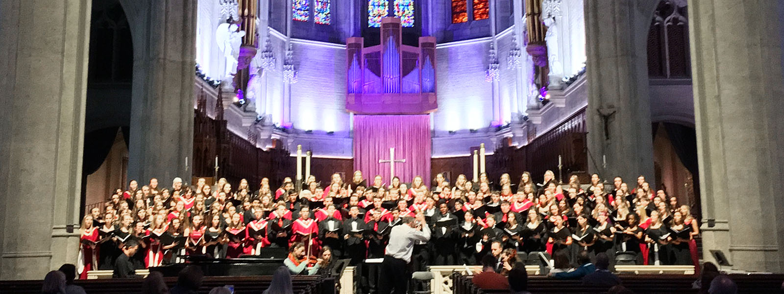 Concert Choir at Grace Cathedral