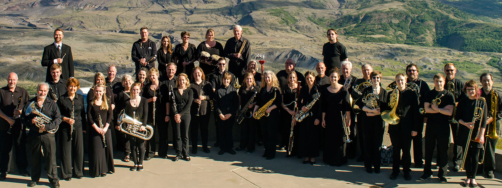 LCC Symphonic Band Performs at Mount St. Helens