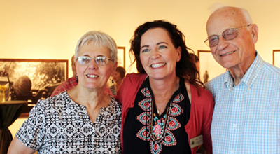 Karen Pickett, Kendra Sprague and Pete Pickett