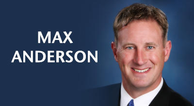 Max Anderson, Commencement Speaker