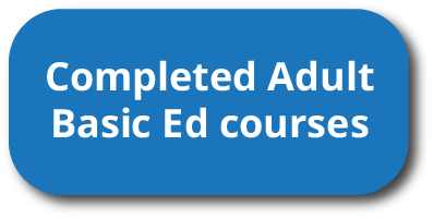 Completed Adult Basic Ed classes
