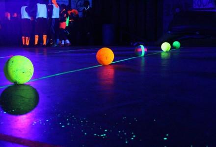 Black Light Dodgeball