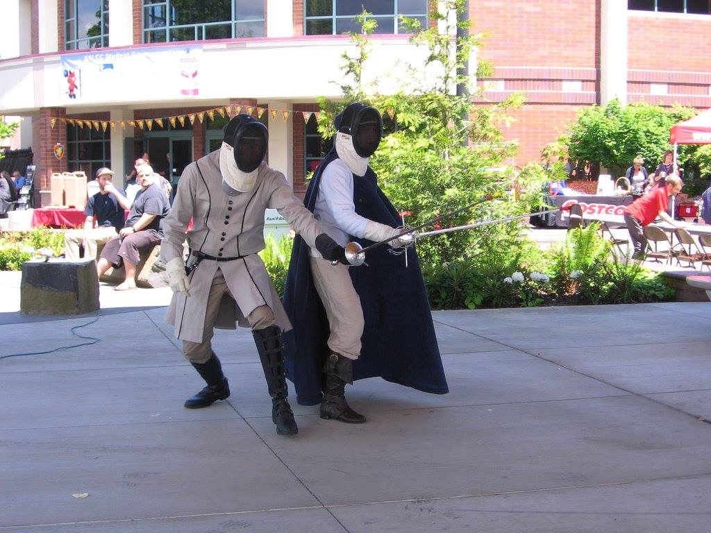 Fencing Club at Red Devil Days